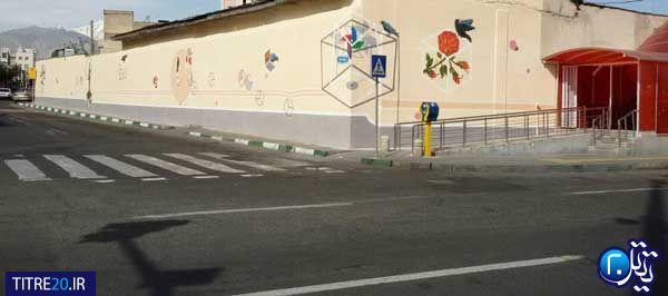 سایه بهار بر دیوارهای شهر/ پرنده ای که در آلودگی هوای تهران کمرنگ شد!