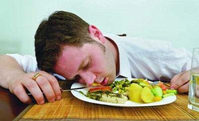 خوابیدن پس از صرف غذا باعث این بیماری می شود