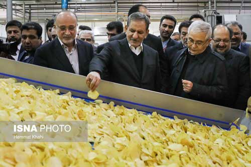 سرمایه گذاری چند 100 میلیاردی چیپس و پفک در ایران