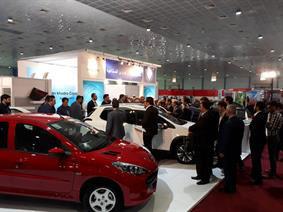 حضور ایران خودرو در نمایشگاه بغداد