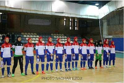 عکس جالب از تیم بانوان روسیه در ایران!