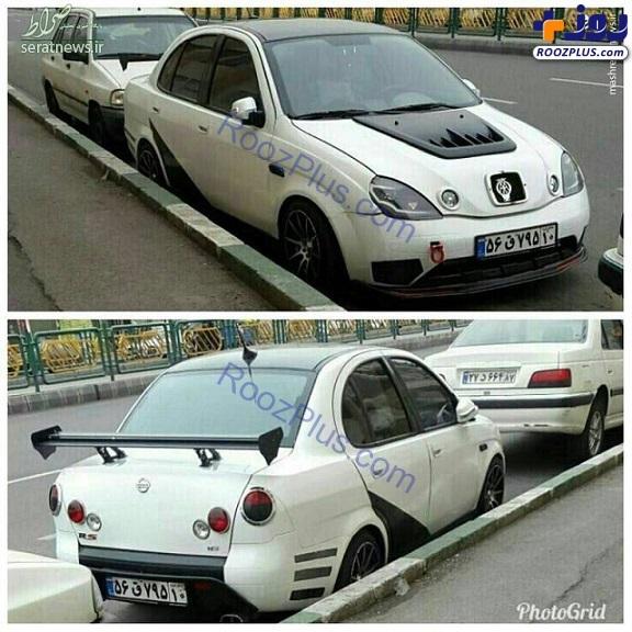 خاص ترین خودرو تیبا را ببینید!
