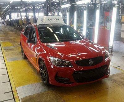 آخرین خودروی تولیدی استرالیا را ببینید!