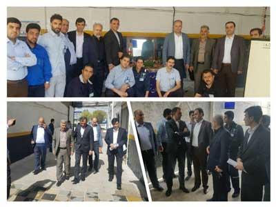 بازدید مدیرعامل شرکت خدمات پس از فروش ایران خودرو از نمایندگی های کرمانشاه