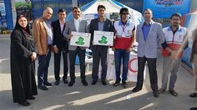 خدمات پس از فروش ایران خودرو به کمپین «نه به تصادفات جاده ای» پیوست